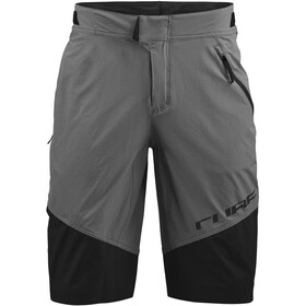 Cube Edge Baggy Shorts Heren, grijs/zwart